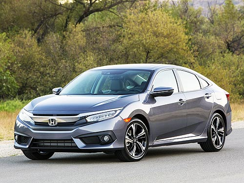 Honda Civic признан «Автомобилем года в Канаде» - Honda